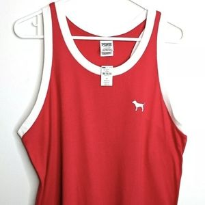 New Victoria's Secret Pink Women's Large Red Tank